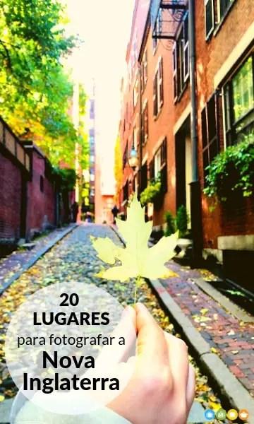 20 lugares para fotografar a Nova Inglaterra no outono