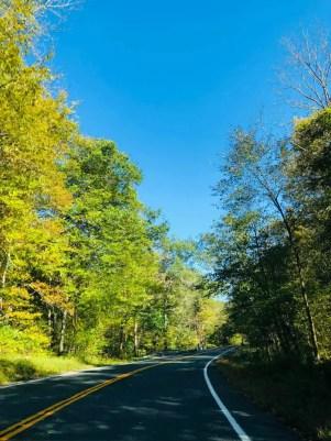 Estrada em Connecticut