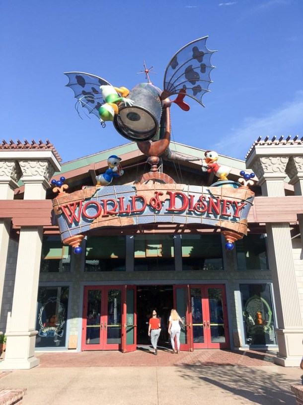 Lojas Disney Springs