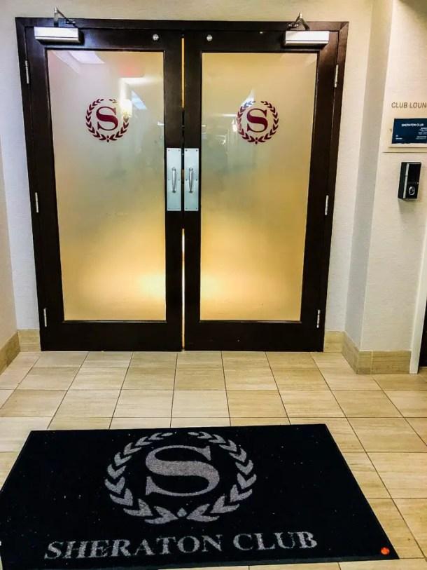 Sheraton Miami Airport Club Floor Lounge