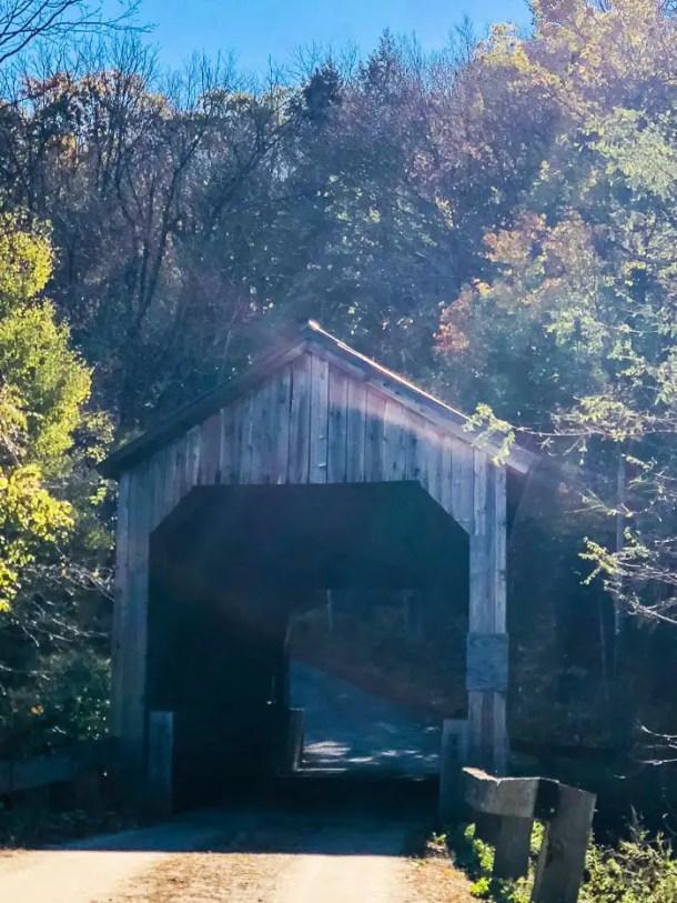 ponte coberta em vermont