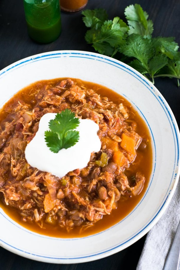 Chili de Frango (Chicken Chili) | Malas e Panelas