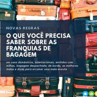 Regras de bagagem viagem avião