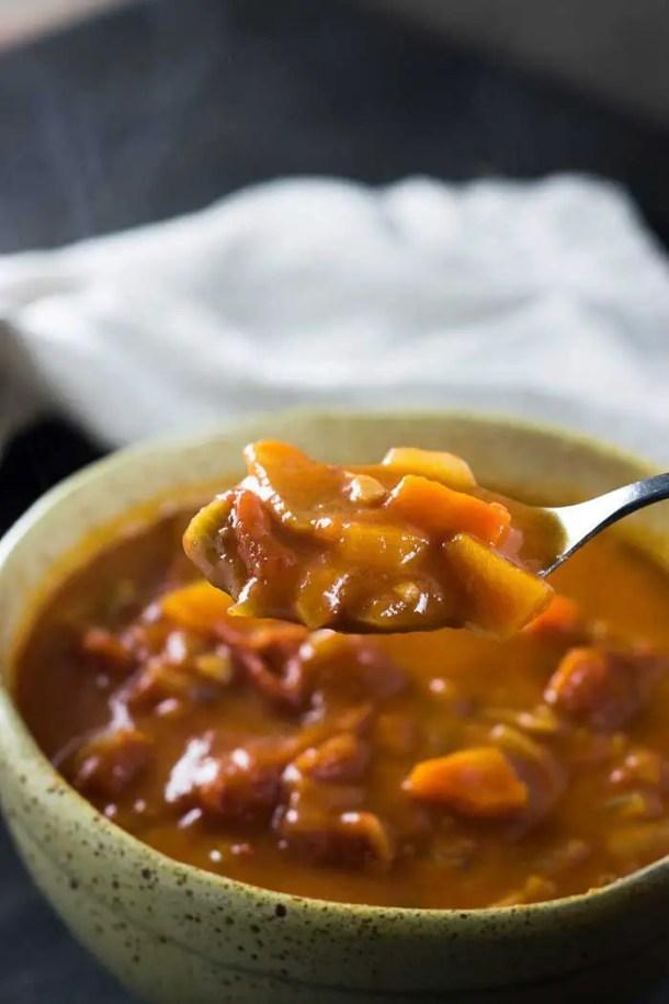 Sopa de Tomate rústica