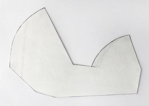 Follies. 1 x ∞, Schnittmuster (größte Länge 28,2 cm)