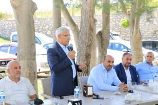 AK Parti mahalle başkanları, Battalgazi'deki yatırımları inceledi