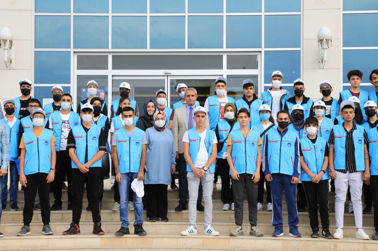 Öğrenciler TEKNOFEST' istedi Başkan Güder geri çevirmedi