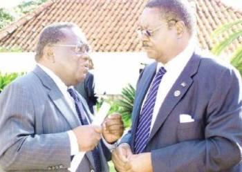 Goodall Gondwe and Peter Mutharika