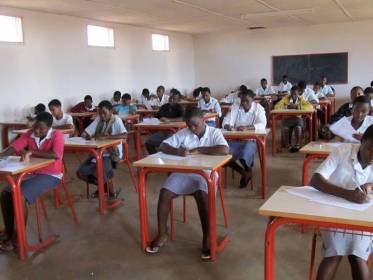 Malawi Students seating for Examination