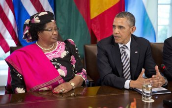 joyce banda in us