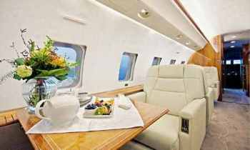 Mutharika chartered Bombardier Global Express - OE-IGS