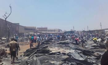Mzuzu Market Fire