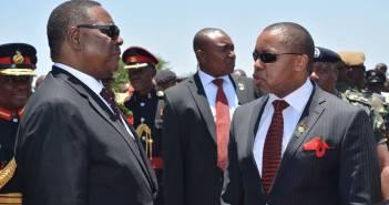 Peter Mutharika & Saulos Chilima