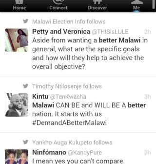 Demand better Malawi Twitter