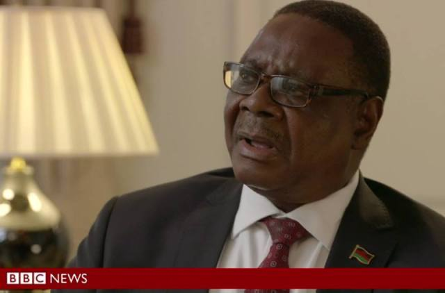 Peter Mutharika BBC Hard Talk
