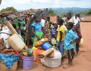 Mozambique refugees