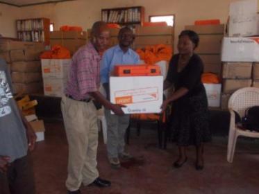 World Vision donation