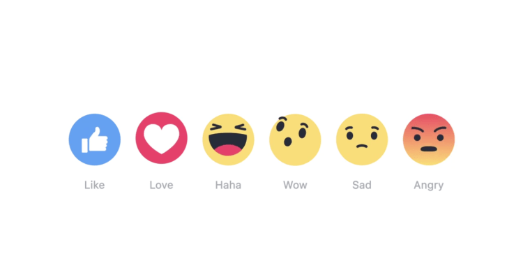 Facebook adds Reaction features