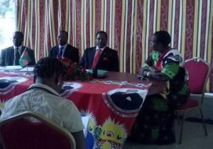 Jessie Kabwira & Lazarus Chakwera