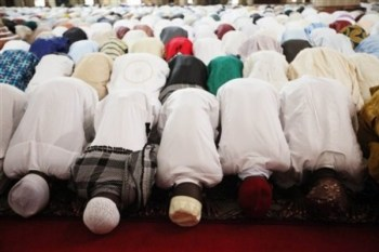 Muslims pray for rains. (Library Image)