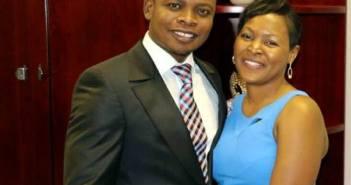 Shepherd Bushiri and his wife Mary Bushiri