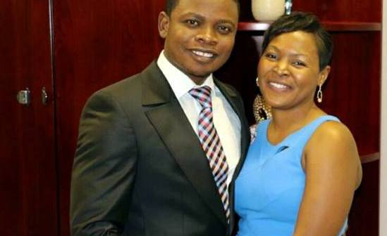 Shepherd Bushiri and his wife Mary Bushiri