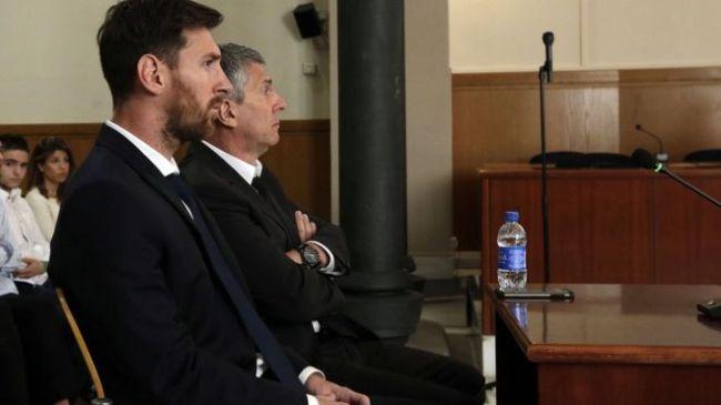 Lionel Messi jailed