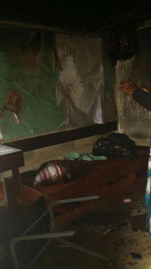 Malawi Police sets ablaze University Student (6)