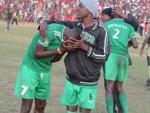 Moyale Barracks players
