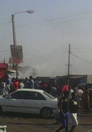 Lilongwe fire