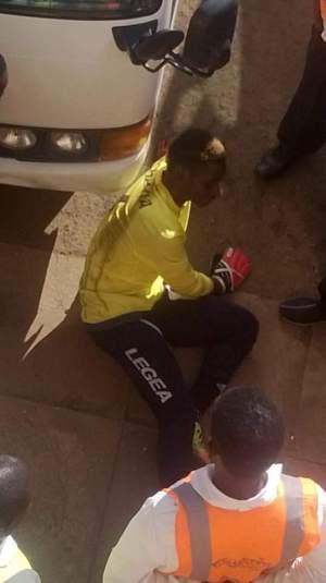Police goalkeeper