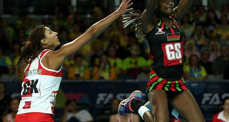 Malawi Queens Fast5 Netball England