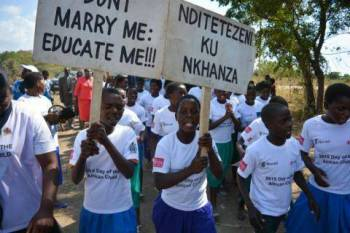 Malawi girls on forced marriage  want to make a return. (Image credit: www.peacetimes.news)