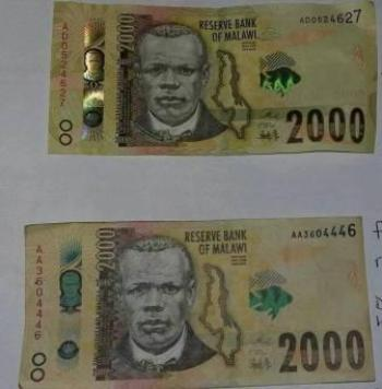 k2000 bank note