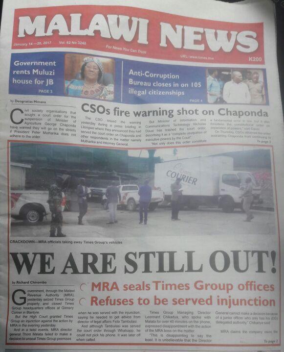 Malawi News
