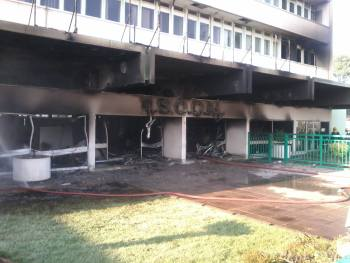 Escom House fire