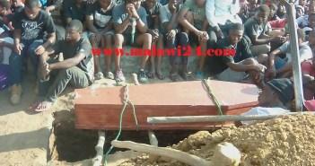 Tony Chitsulo burial