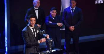Ronaldo FIFA Player of the year