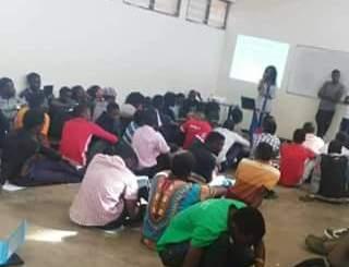 Luanar students
