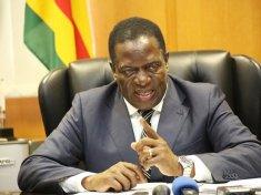 President Emmerson Mnangagwa Zimbabwe