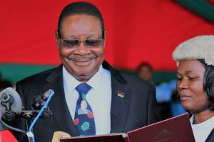 Malawi President Peter Mutharika swearing in ceremony