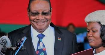 Malawi President Peter Mutharika swearing in ceremony
