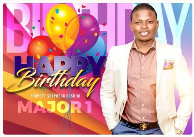 Bushiri date of birth