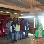 Singing in the church choir