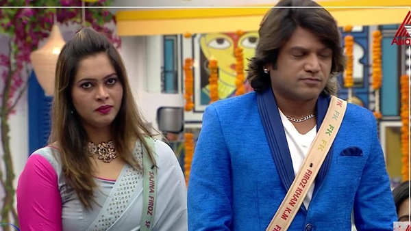 Bigg boss malayalam season 3: firoz khan reveals sajna a liability for me, his remarks goes viral    I was in charge of Sajna Bigg Boss, Feroz Khan with shocking revelation