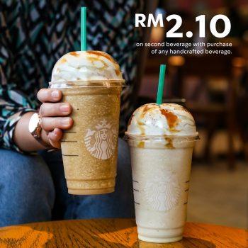 Minuman buatan tangan Starbucks kedua dengan harga hanya RM2.10