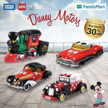 Kenderaan bermotor tema FamilyMart x Takara Tomy Mickey Mouse