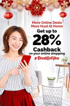 Promosi Boost App CNY Cashbacks