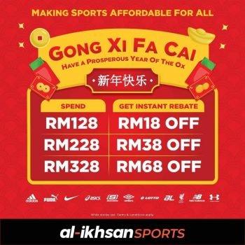 Rebat Al-ikhsan Sports CNY Tambahan RM68