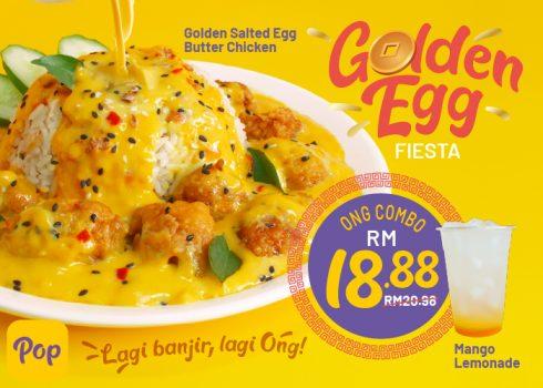 Ayam Mentega Telur Masin Emas Diskaun RM5